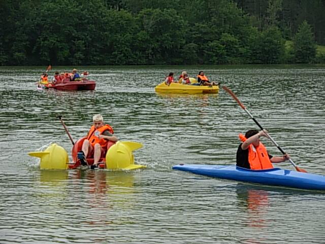 camping lot bord de lac