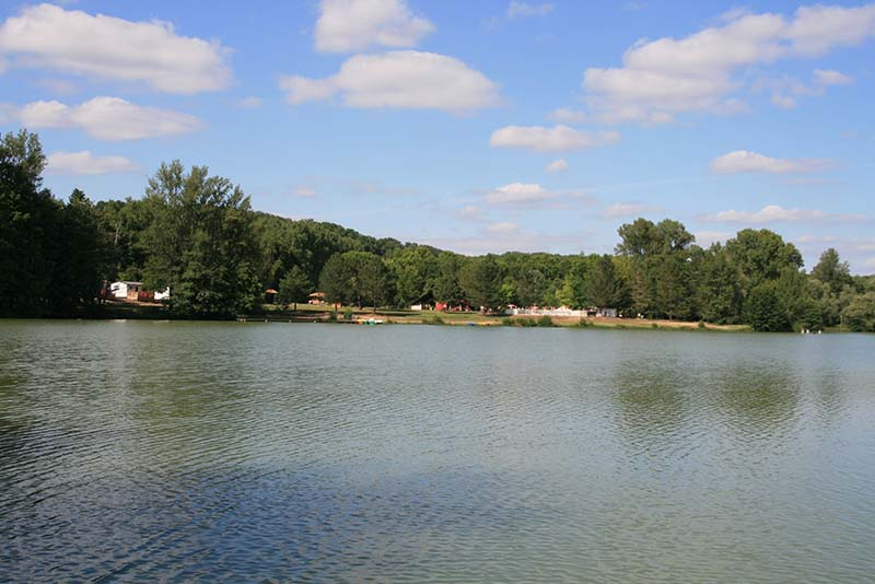 camping lac de Neguenou