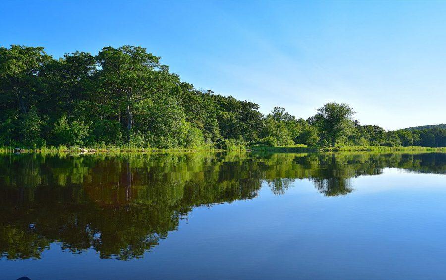 lac camping lac de Neguenou