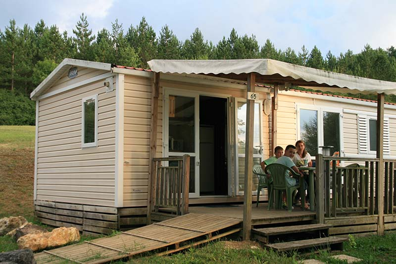 location mobil home 47
